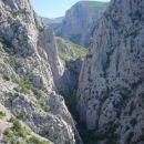 Kanjon V.Paklenice-pogled zvrha Nosorog-a