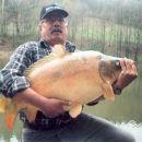 Slavko Omerzel, krap 17,5 kg  :)