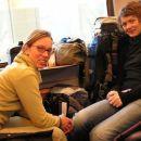 Na vlaku  /  on the train   Amsterdam-Wageningen