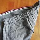 Mango hlače M, modni karo s stransko črto