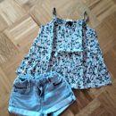Kik jeans in mini boden majčka 128