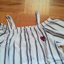 C&A bluza z odprtimi rameni 158-164