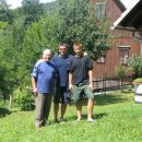 Me, my father Jože and my younger son Matej