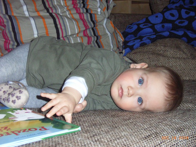 žiga 10- 12 mesecev - foto