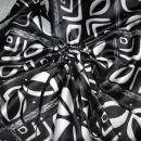 78 Črno-belo krilo - detajl (M)
