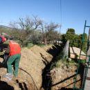izkop za električni kabel
