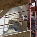 Čiščenje kamna na stebrih