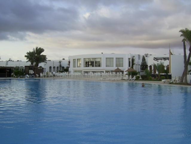 Pogled iz bazena