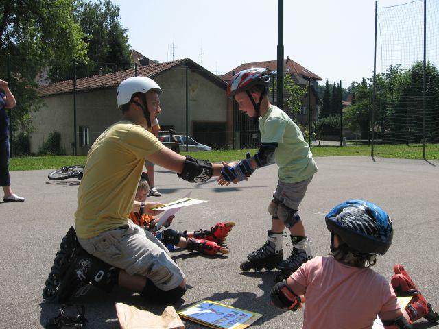 Začetni tečaj rolanja krško, junij 2013 - foto