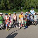 Začetni tečaj rolanja - Sevnica, junij 2014