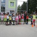 Začetni tečaj rolanja - Brežice, junij 2014
