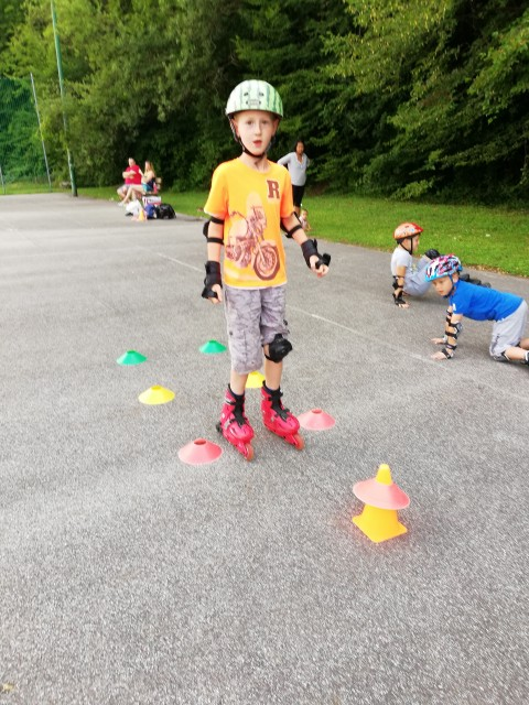 Začetni tečaj rolanja - Krško, junij 2018 - foto