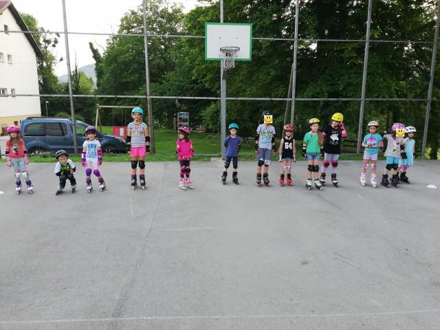 Začetni tečaj rolanja - Brežice, junij 2019/1 - foto
