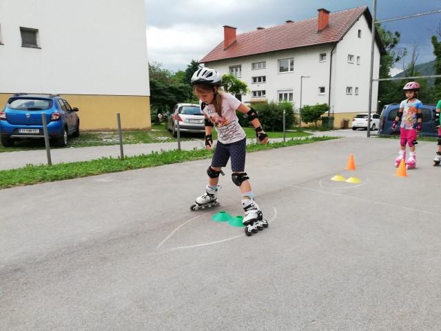 Začetni tečaj rolanja - Brežice, junij 2019/2 - foto