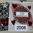 Scrapbook - Lidočkin koledar 2008 (jan 2008)