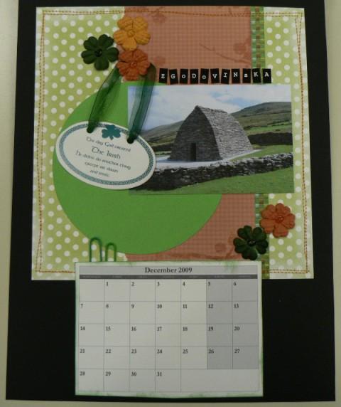 Scrapbook - koladar Moja pravljična Irska (ja - foto