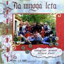 Scrap page za Atenko, organizatorko srečanja v Izlakah (klasik)