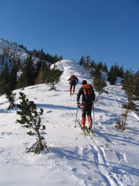 Pod vrhom Plešivca 1801 m