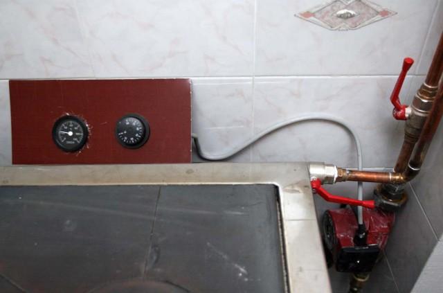 Regulacija štedilnik črpalke
