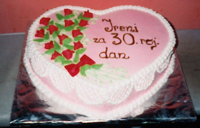 Torte srcek - foto