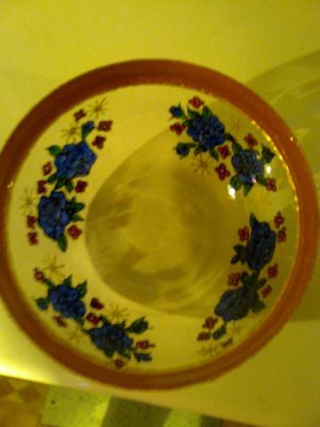 Steklena posoda za sadje ali solato, darilo prijateljici za rd