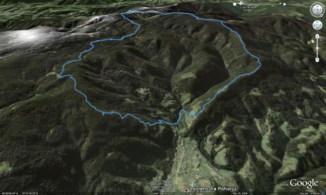 Rogla-Klopni vrh-Lovrenc-Lovrenška 19.7.2011 - foto