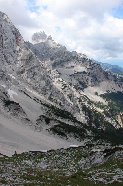 Ledinski vrh iz Jezerskega 30.7.2011 - foto