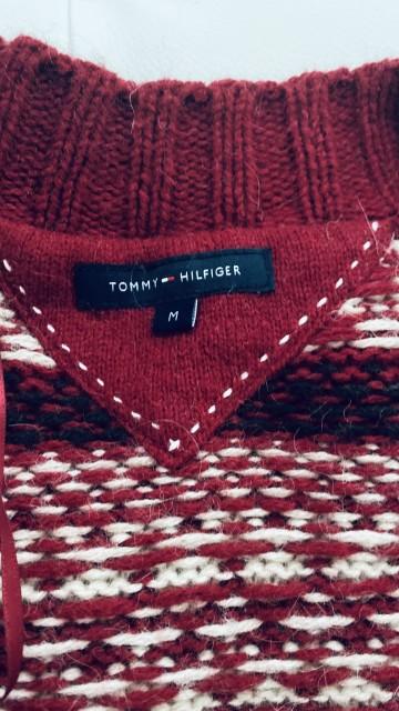Dolge vrhnja jopica Tommy Hilfiger velikost M - foto