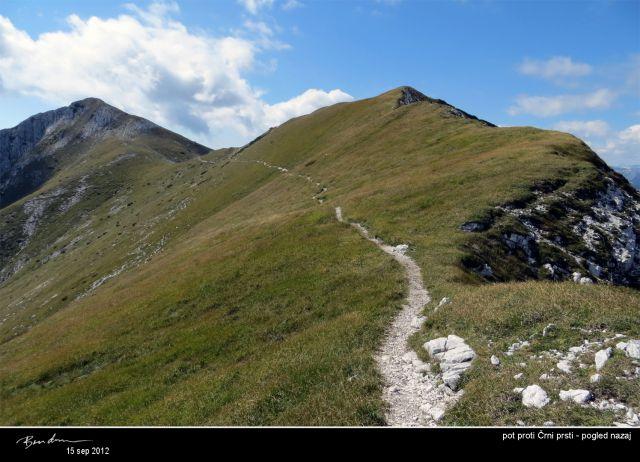 Po robovih Bohinjskih gora, sep. 2012 - foto