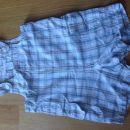 Pajac, hlače na naramnice H&M, št. 62, cena: 3€; fantek