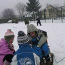 igra na snegu