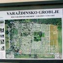 Načrt celotnega pokopališča.
