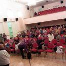 Polna dvorana, predavanje je zanimivo.