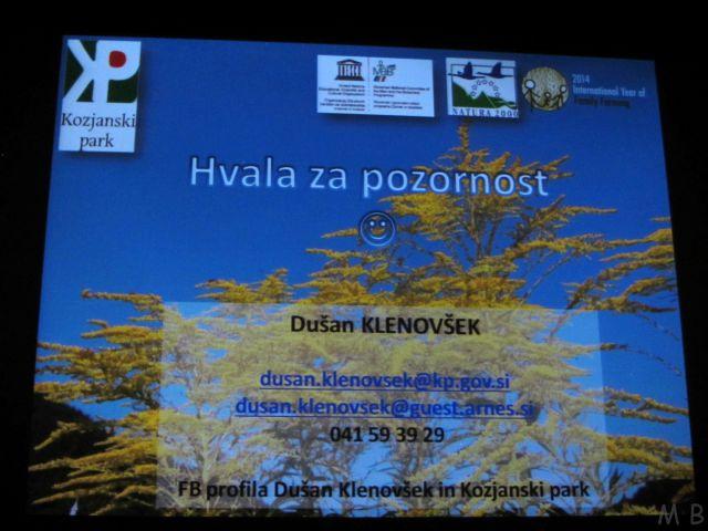 Dušan Klenovšek: Invazivne rastline v našem okolju