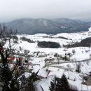 Planina-- razgled iz gradu