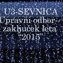 Zaključek leta -- UO U3-Sevnica
