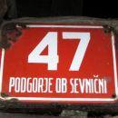 Pohod - Pipan - Kurja vas - Zupan - Gorica - Podgorica.