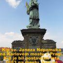 karlov most - spomenik janeza nepomuka