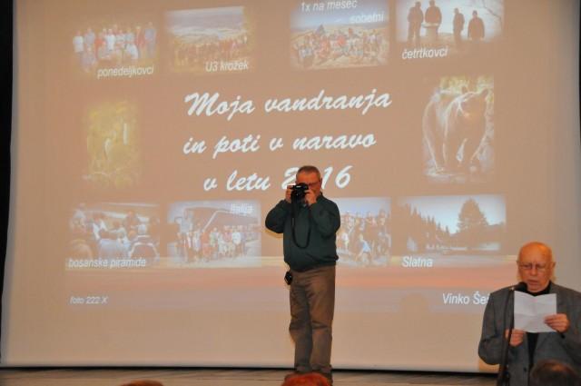 17. 1. 2017 predavanje Vinka Šeška - foto