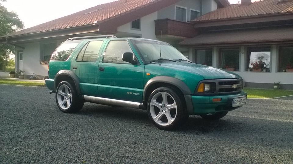 Chevrolet blazer - foto povečava