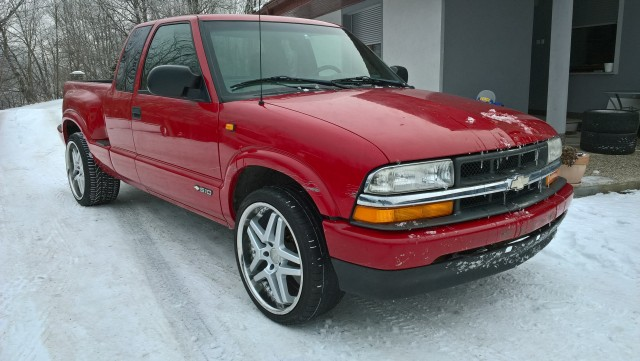 Chevrolet s10 - foto