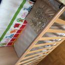 Obroba za otroško posteljico