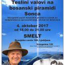 Dr. S. Osmangić - Teslovi valovi na piramidi