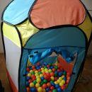 Igralni šotor in 200 žogic