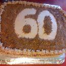 60 let čokoladna torta