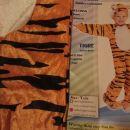 Pustni kostum tiger 92-104 8 EUR