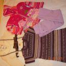Komplet oblačil, deklice 4-6 let