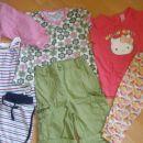 poletna oblačila deklica 74