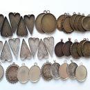 kovinske osnove za ustvarjanje,srčki že oddani, cena za ostalo 8€