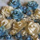 rože iz papirja (vrtnice)